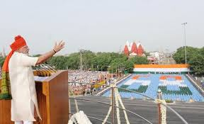 namo at red fort